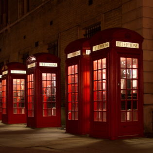 red phonebooths